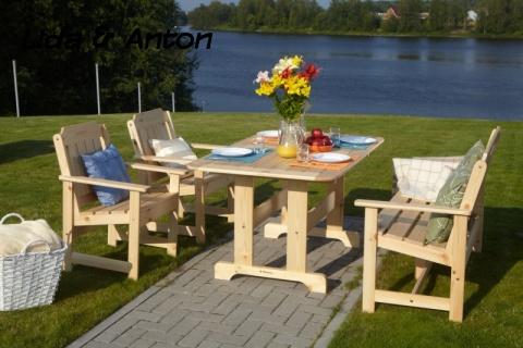 Стол для обеда уличный