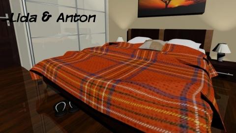 Визуализация спальни в PRO100