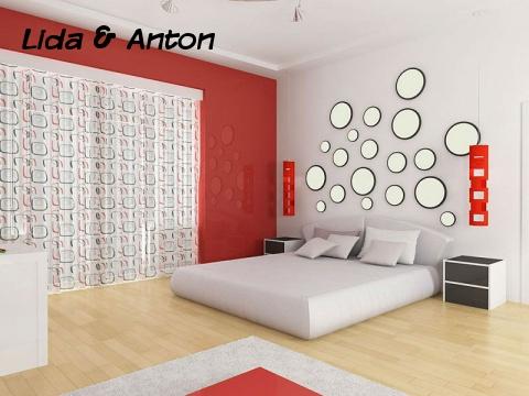 Спальня в стиле авангард