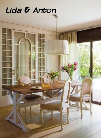 Французские окна в стиле Прованс