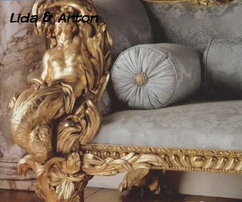 Мебель в стиле Рококо