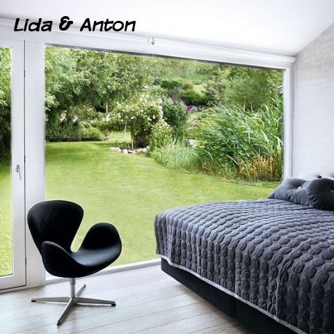 Спальня с видом на…