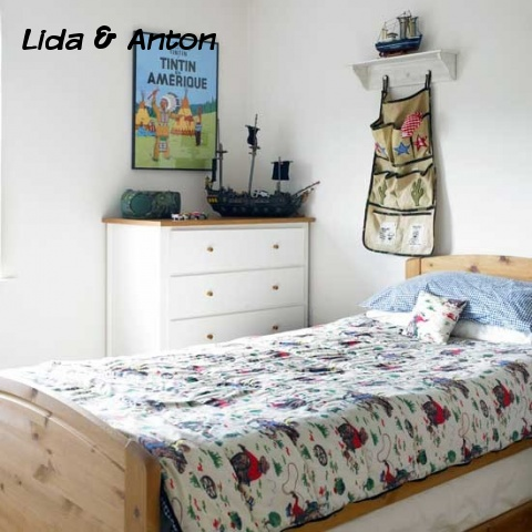 Универсальная спальня для мальчиков