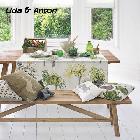 Весенний дизайн столовой