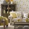 Солнечно-желтая гостиная
